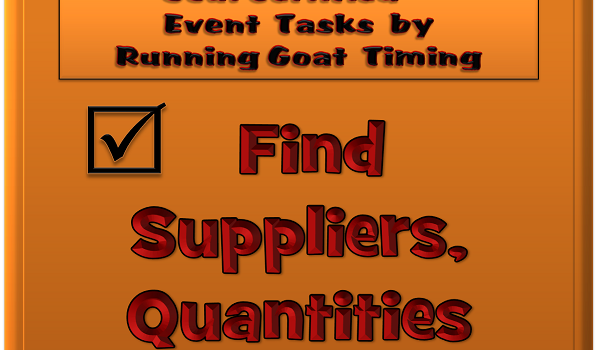 Suppliers and Quantities